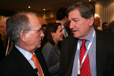 Wolfgang Ischinger und Richard Holbrooke bei der Münchner Sicherheitskonferenz