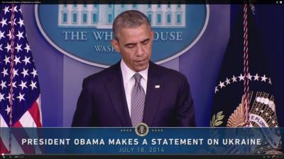 Präsident Barack Obama spricht am 18. Juli von einem Weckruf für Europa
