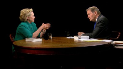 Hillary Clinton bei Charlie Rose (www.charlierose.com)