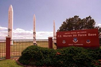 Fort F.E. Warren Air Force Base, Cheyenne, Wyoming